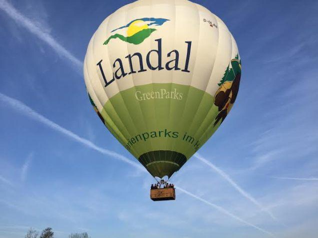 ballon in de lucht